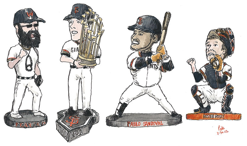 SF Giants Bobbleheads