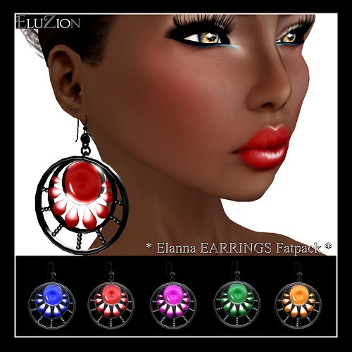 ELUZION _ Elanna Earrings Fatpack