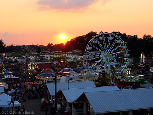 Day 223 Sunset at the Fair by pixygiggles