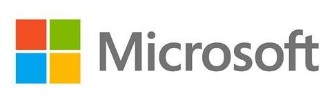 Logo kelima Microsoft (2012 sampai sekarang)