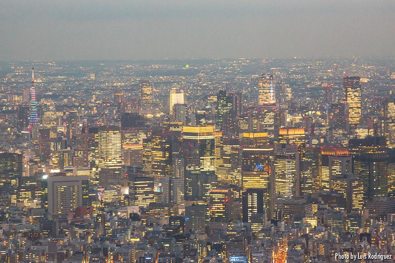 Vistas de Tokio desde la Skytree