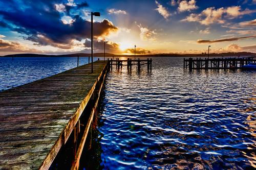 The dock of the (Bodega) Bay