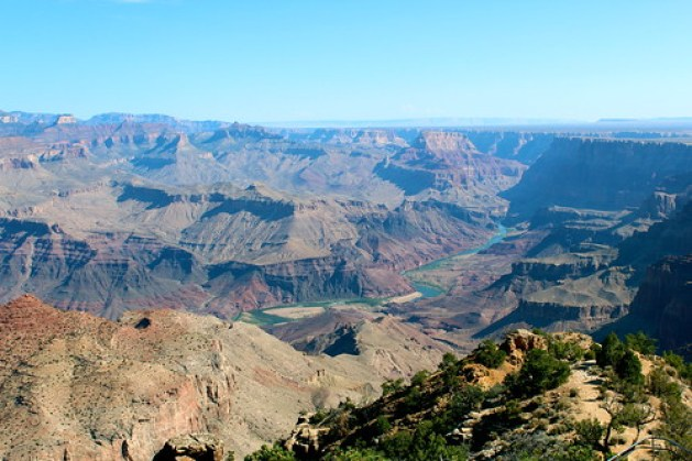 Grand Canyon Desert Watchtower View