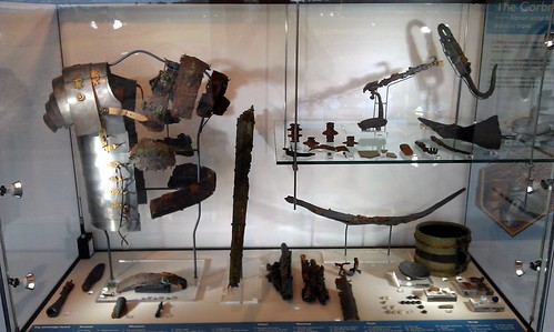 Corbridge Hoard display