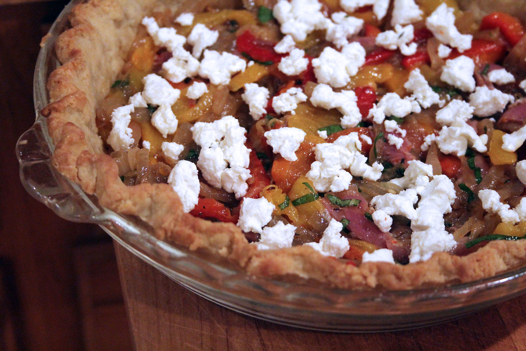 sprinkle goat cheese