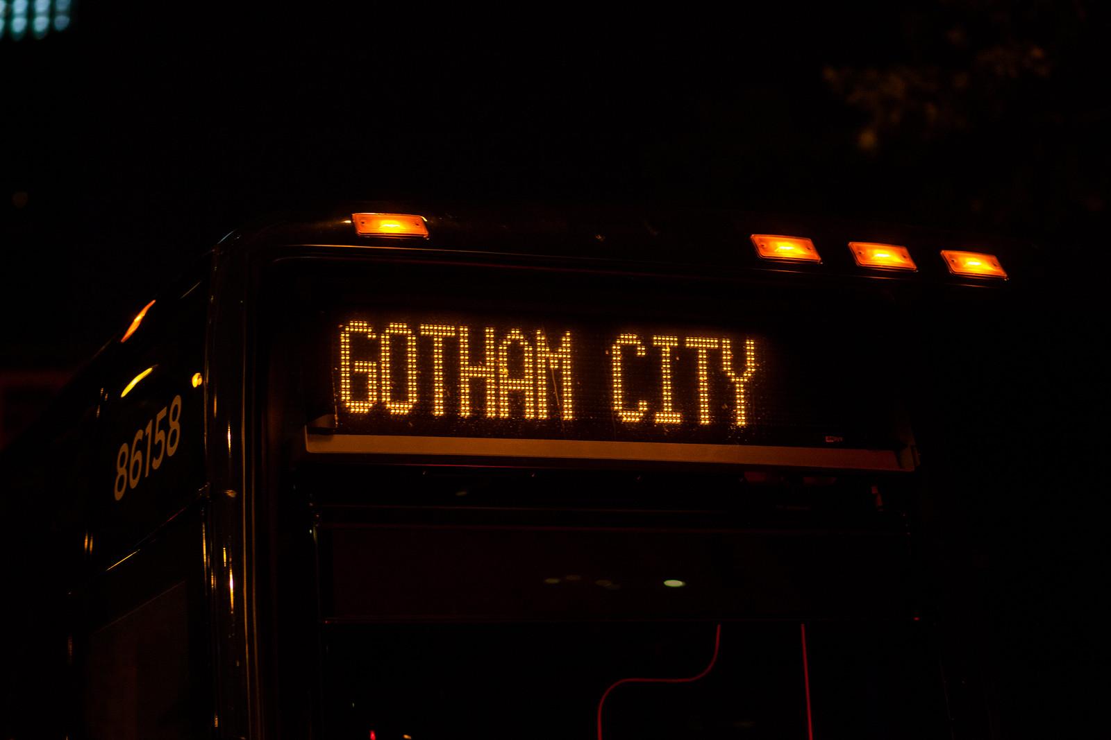 Gotham City by wwward0