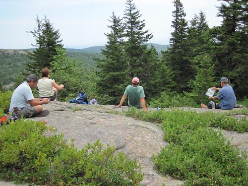 Hike in Acadia National Park