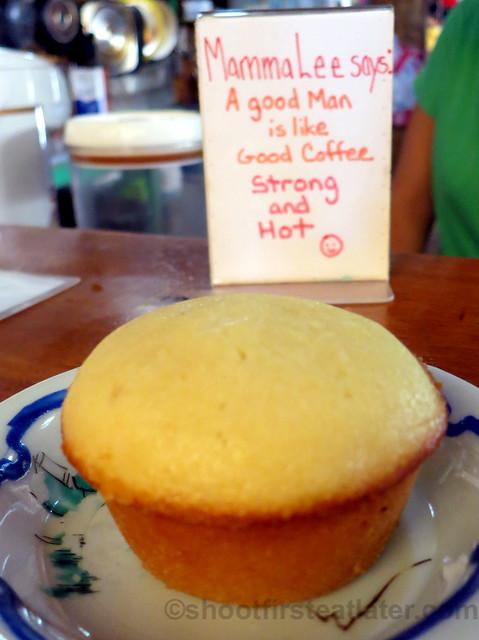 Real Coffee's calamansi muffin