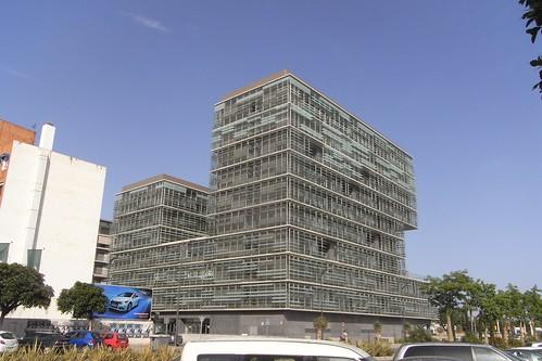 Nuevo edificio de la Gerencia de Urbanismo Málaga
