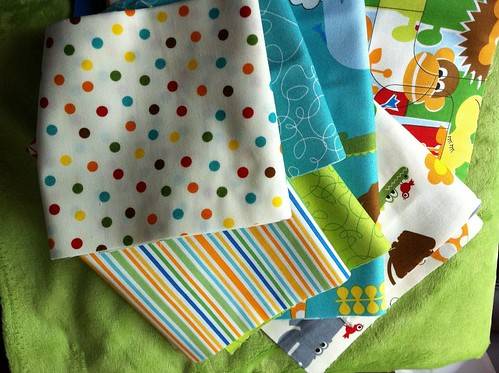 Jungle Bungle Baby Quilt (1/6)