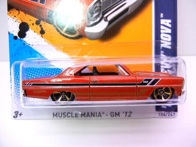 hot wheels '66 chevy nova (2)