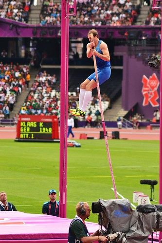 Olympic pole vault