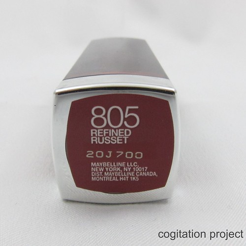 Maybelline-MBFW-Fall-2012-Color-Sensational-805-Refined-Russet-IMG_2670