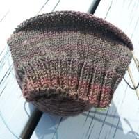 WIP Wednesday: Knitting with Handspun