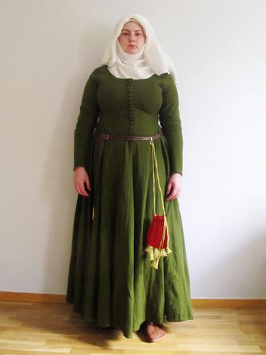 medeltidsveckan 2012 - moy bog dress
