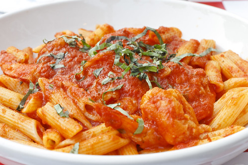 Shrimp Arrabiata