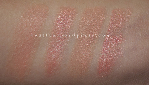 Favourites MLBB lippies