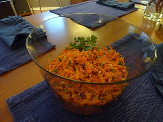 The Mandalay Carrot Salad was a huge hit