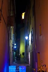 Une Rue, Saint Tropez de nuit