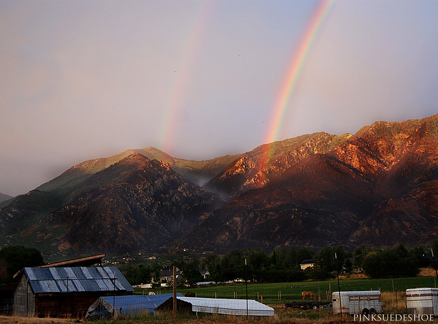 rainbow rises