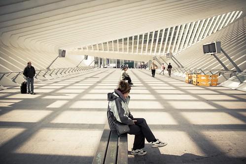 The Station of Light (Liège-Guillemins) - Photo : Gilderic