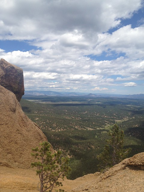 View from the top of The Crags