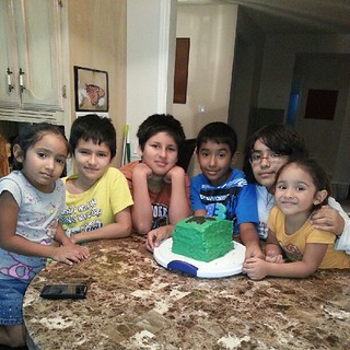 All the kiddos with the birthday TEEN!