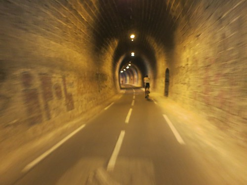 Annecy Cycling Path Tunnel