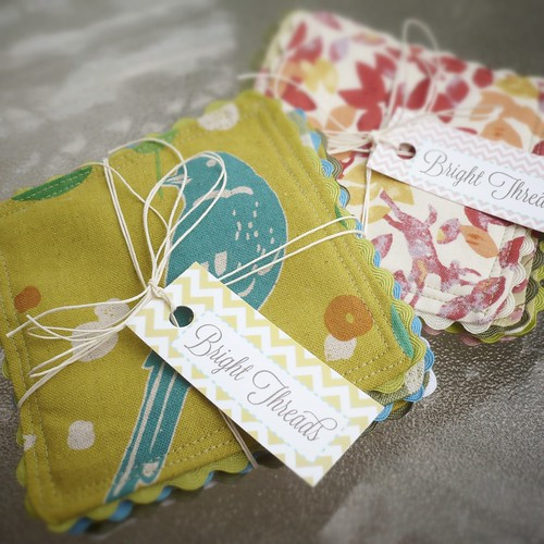 Cotton & RicRac Coasters