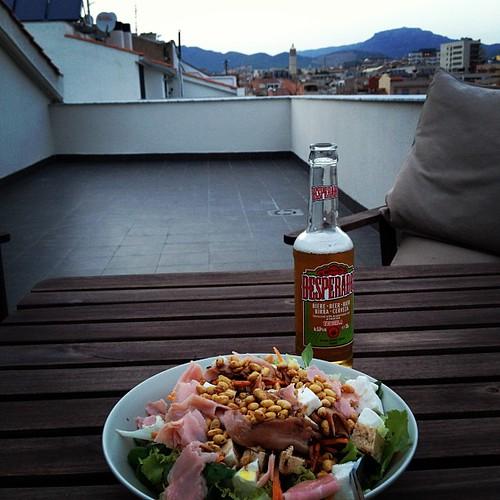 Cena de verano. Adoro la terraza!!! by rutroncal