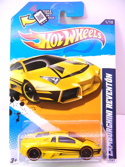 hot wheels lamborghini reventon yellow (1)