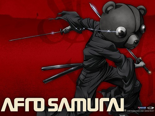 afro samurai jinno kuma