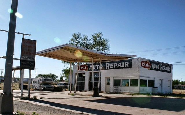 Chris' Auto Repair, Route 66, NM. Photo copyright Jen Baker/Liberty Images; all rights reserved.
