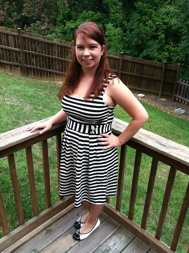 8/6/12 Outfit: The Beetlejuice Dress