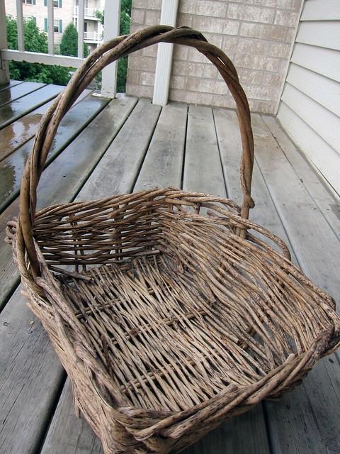 An empty basket!