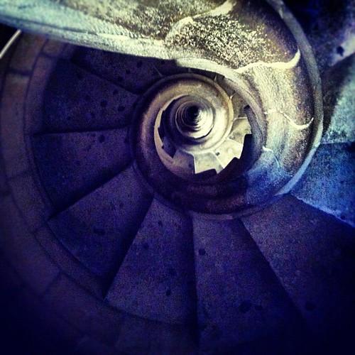 Spiral steps
