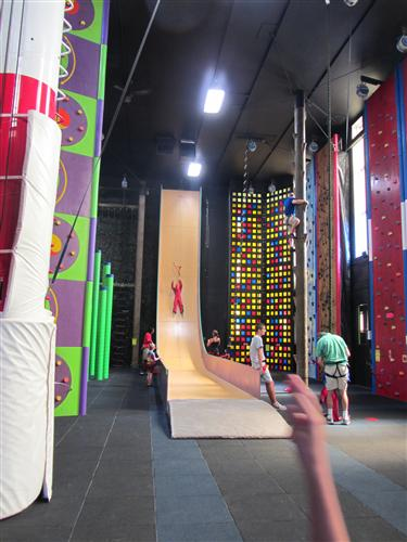 Altitude Gym Clip and Climb Giant Slide