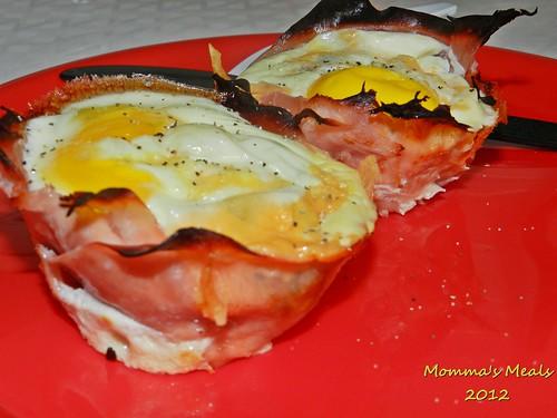 Ham & Egg Breakfast Muffin (9)