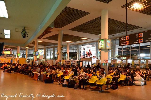 mo chit bus station bangkok thailand