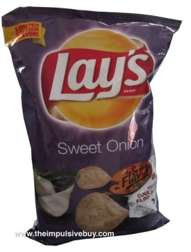 Lay's Sweet Onion Potato Chips