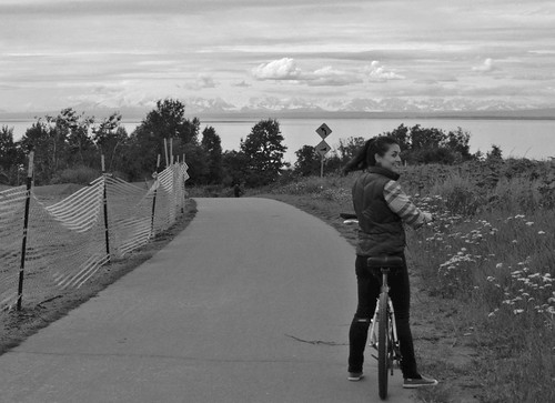 bike riding in Anchorage