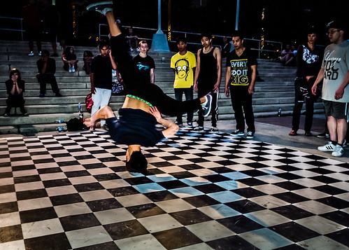 B-Boy Dancing