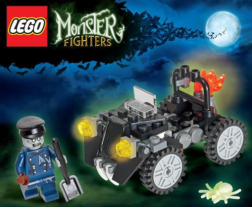 Monster Fighters freebie set