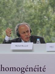 Michel Rocard, ancien Premier ministre