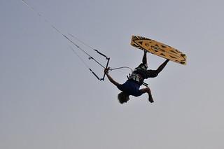 Giuseppe Esposito Kitesurfing