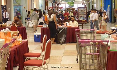 Pra Ramadan Blood donation @ Aeon Permas Jaya