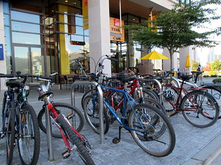 Terra Breads Bike Parking