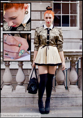 London Fashion Week - Street Style