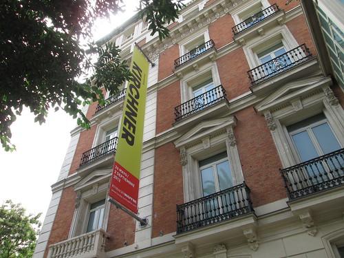 Exposición Kirchner, Fundación Mapfre. Madrid