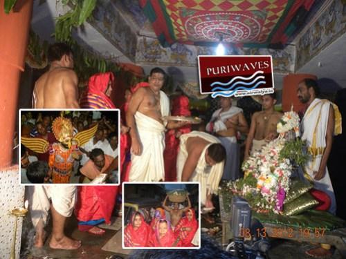 Lavani Bhoga Before Kaliya Dalana